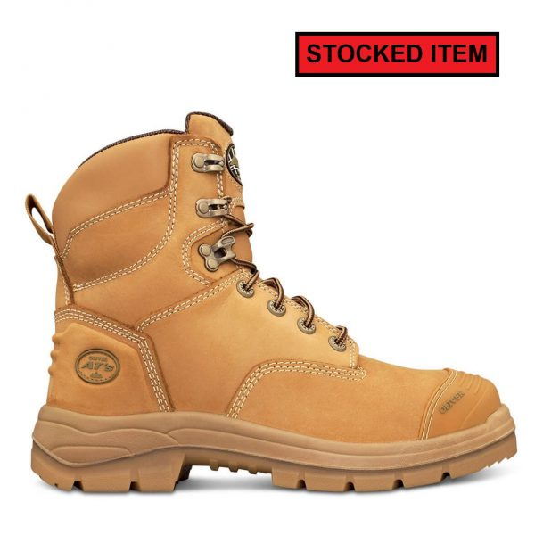 e41fe8e6d82 Oliver AT Wheat Lace Up Safety Boot with Toe Protection 55332