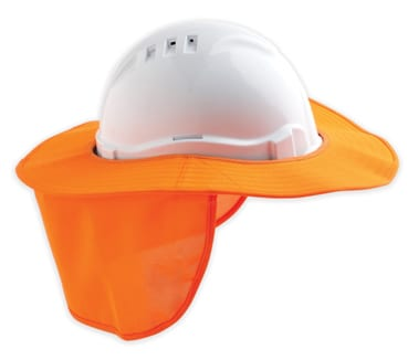 Guardian Safety Sun Brim with Neck Flap CP6400 - Newcastle Workwear ... aa8e2210bb3