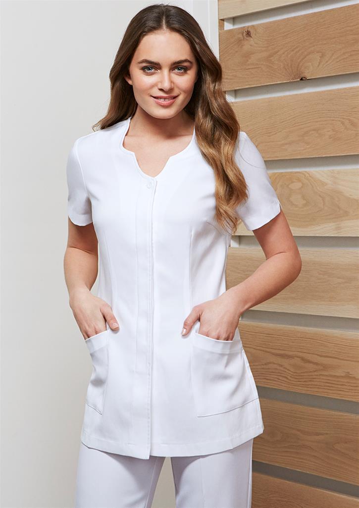 Fashion Biz Ladies Eden Tunic H133ls Newcastle Workwear