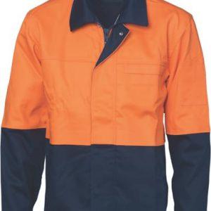 38dbc15f079f DNC Patron Saint® Flame Retardant Two Tone Drill Welder s Jacket D3431