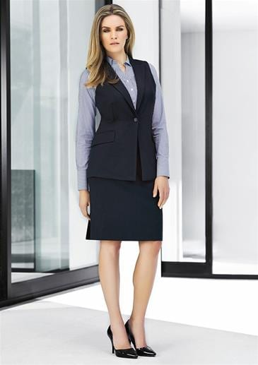 781751d8f7427 Biz Corporate Ladies Longline Sleeveless Jacket 60114 - Newcastle ...
