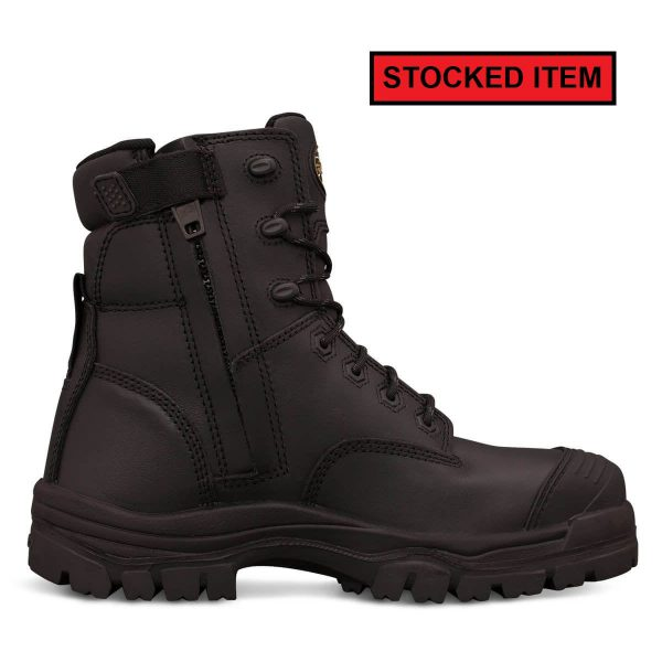 Oliver Black Zip Sided Composite Safety Boot 45645Z - Newcastle ... 9de946d39398