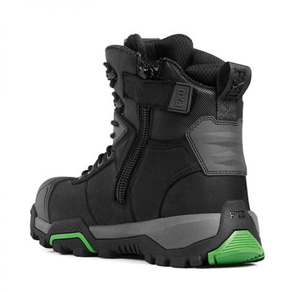 Fxd 6 0 Hi Cut Safety Zip Work Boots Wb1 Newcastle
